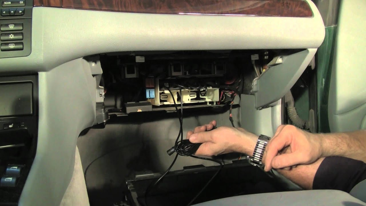 installing the dice media bridge in a bmw or mini part 2 of 2 youtube rh youtube com
