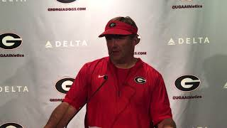 KIrby Smart 8 18 18 - @MikeGriffith32