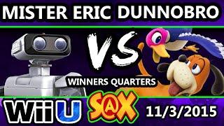 S@X 122 - HE | Mister Eric (ROB) Vs. DunnoBro (Duck Hunt) SSB4 WQ - Smash Wii U - Smash 4
