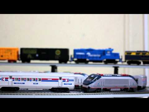 Model Railroad Toy Train Track Plans-Super Ideas For Realizing The Maximum From Your Amtrak HO Scale Train zoom by….