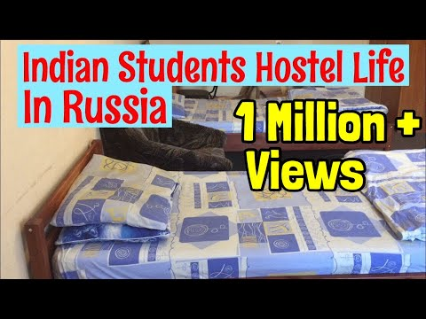 My Hostel In Russia| Medical Students Hostel In Russia