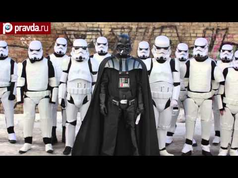 Darth Vader told to quit election race in Ukraine