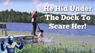 Swamp Monster Prank