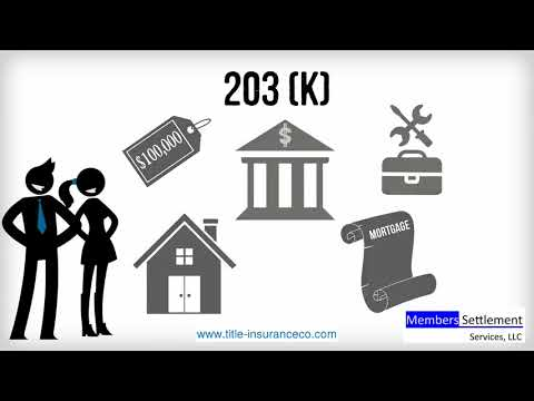 About 203b and 203k FHA Loans