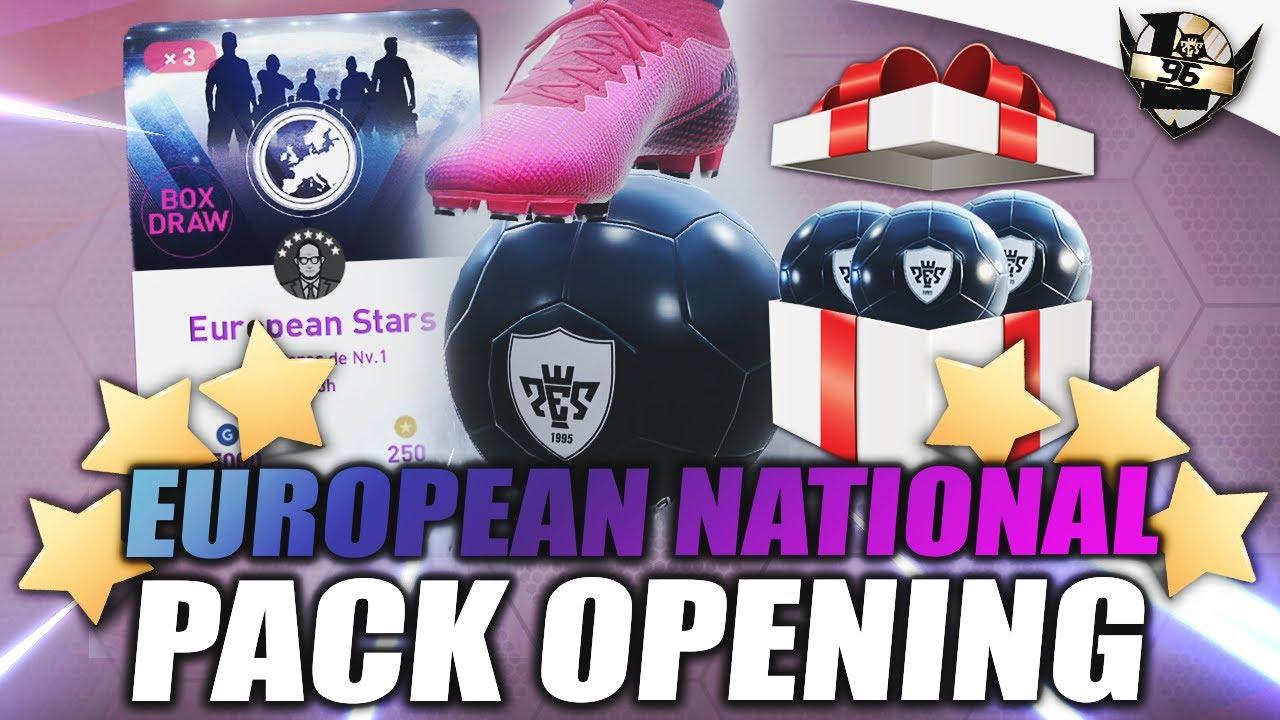 ¿LA DUPLA? ¡EUROPEAN STARS PACK OPENING! myClub #216 PES 2020