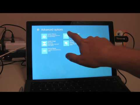 Surface Pro 4 / Pro 3 / Surface 3 - How to Factory Restore and/or Restore Recovery Partition
