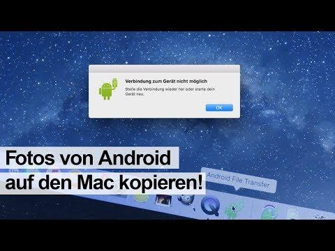 Android Gerat Mit Mac Verbinden Auf Daten Fotos Zugreifen Youtube