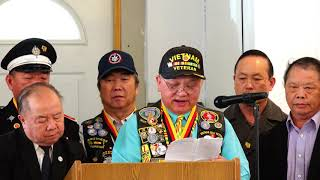 News/Wisconsin Lao Veterans Of America Inc @ Vietnam Veterans Day 3/31/2019
