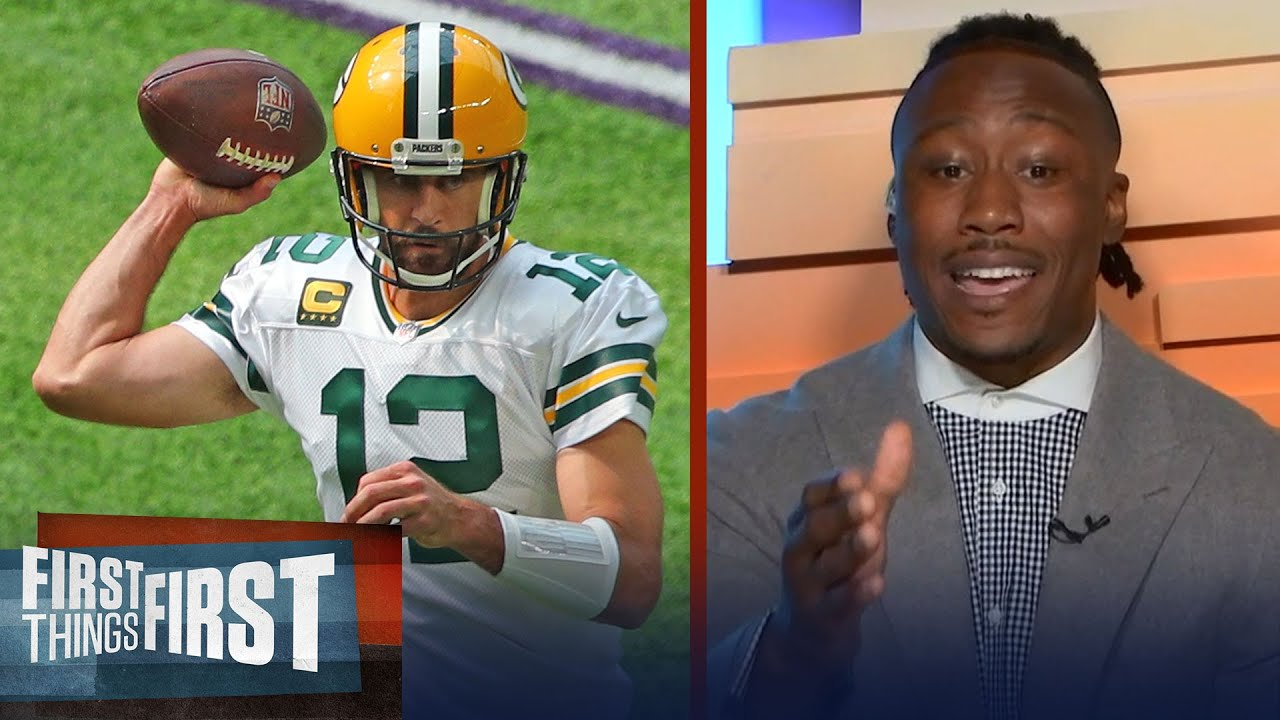 Brandon Marshall likes red-hot Rodgers, Packers to get the win vs Saints | NFL | FIRST THINGS FIRST