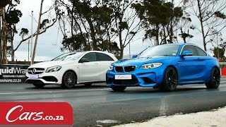 Drag Race: BMW M2 vs Mercedes A45 AMG