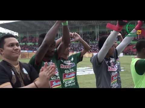 SUASANA LAGA PSMS VS BHAYANGKARA FC