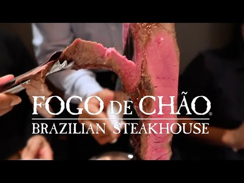 ALL YOU CAN EAT Meat in BEVERLY HILLS! Fogo De Chao Brazilian Steakhouse