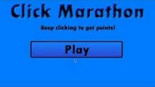 Click Marathon-Ne Kadar Hızlı Tıklayabilirsin