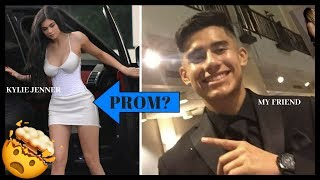 My Friend Took KYLIE JENNER To PROM! (Insane Q&A)