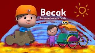 Becak Lagu Anak Indonesia Populer