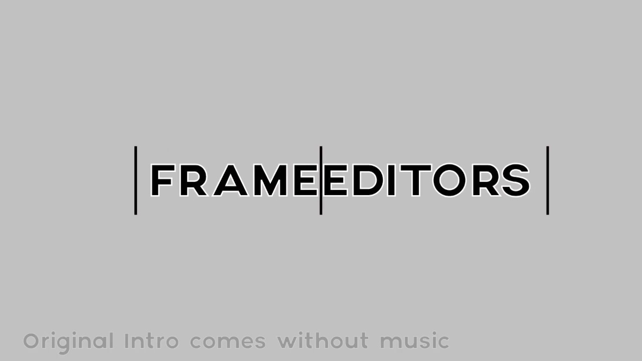 New Editing Clan (Frame Editors)(Free To Join) - YouTube
