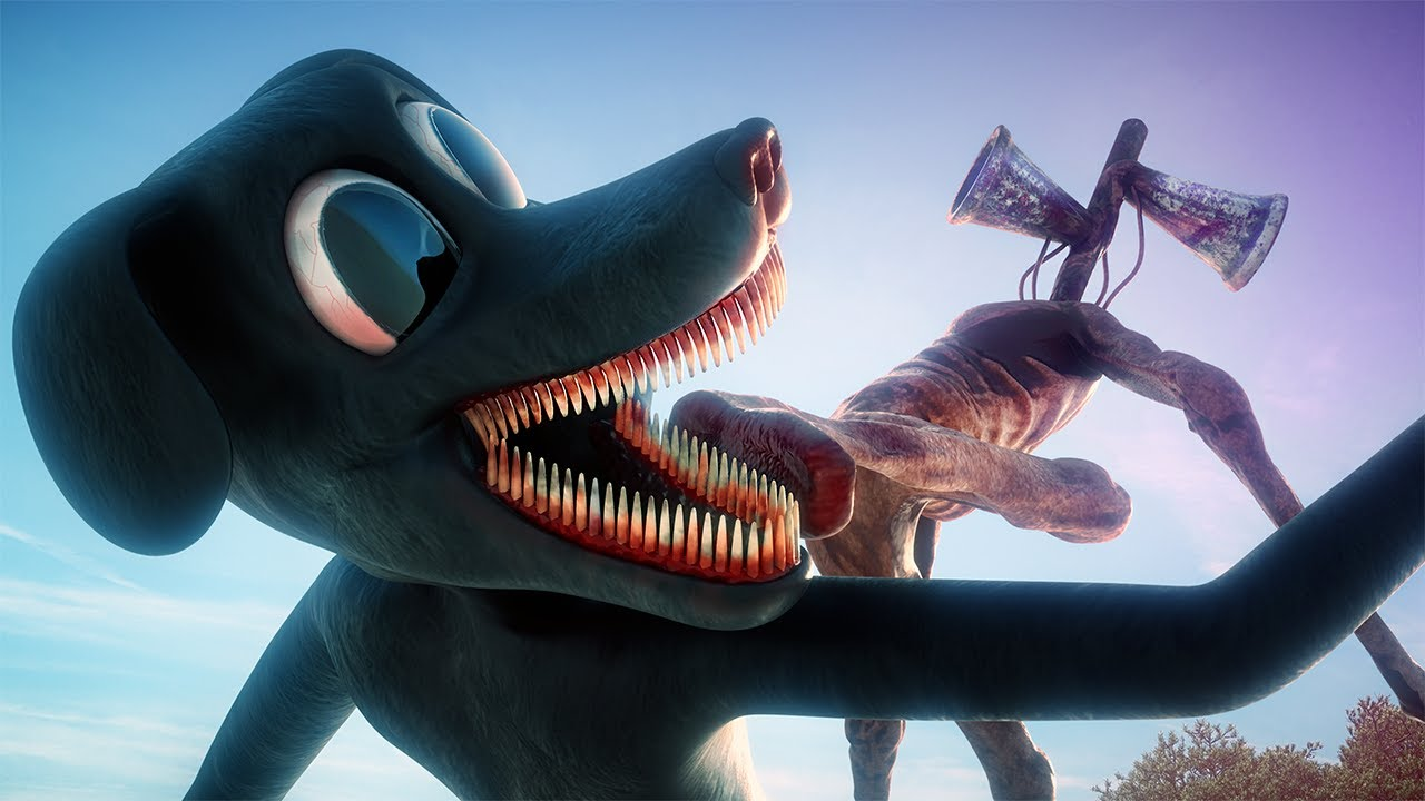 Cartoon Dog vs Siren Head: REVENGE