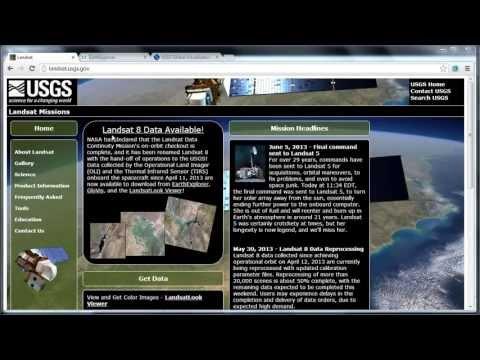 Download Landsat-8 Imagery for Free
