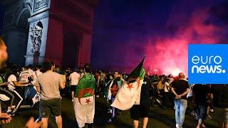 أعمال شغب في باريس بعد تأهل الجزائر إلى نصف نهائي الأمم الإفريقية…
