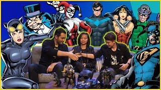 Batman Name Game! Jett VS Grown-Up | DC Kids