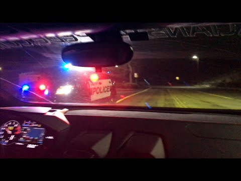 Lamborghini OUT RUNS POLICE!