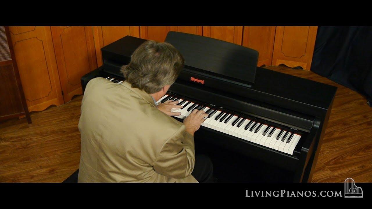 flychord digital piano for sale model dp420k living pianos youtube. Black Bedroom Furniture Sets. Home Design Ideas