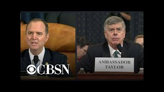 Taylor: Sondland said Trump cared more about investigating Bidens than about Ukraine