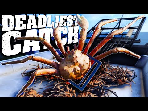 Deadly King Crab Fishing On The Bering Sea - Crab Fishing Simulator - Deadliest Catch The Game
