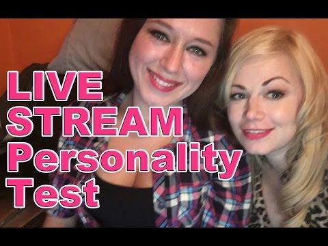 Live Stream Personality Test | Scream Queen Stream