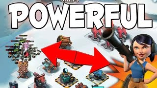 POWER OF ALL ZOOKAS | Boom Beach Operation Attack & Gearheart!