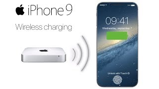 iPhone 9 Wireless Charging and The In-Glass Fingerprint Reader