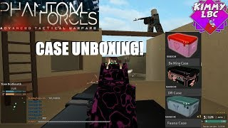 Roblox | Phantom Forces *Case Opening & Applying Camos*