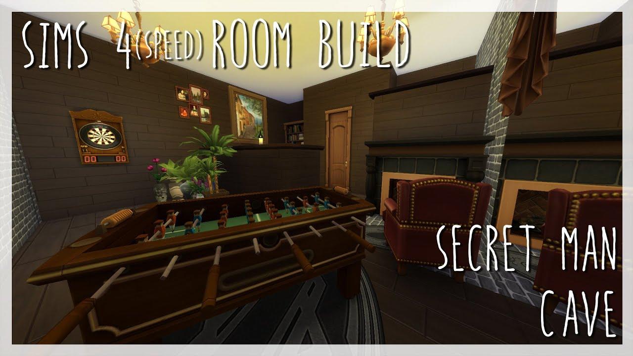Man Cave Secret Room : Secret man cave sims room build youtube