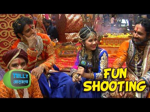 Phool And Pratap's Family Enjoying Pratap - Ajabde's Wedding | Behind The Scenes | Maharana Pratap