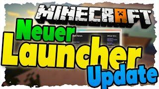 NEUER Minecraft LAUNCHER - Was ist Neu? KEIN Java mehr?