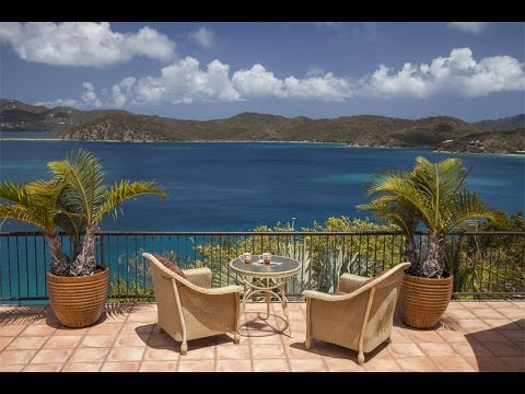 Serene Waterfront Villa in St John, Virgin Islands