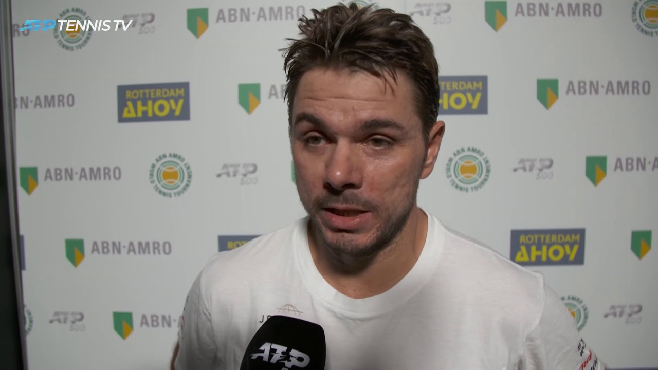 Wawrinka Talks Defeating