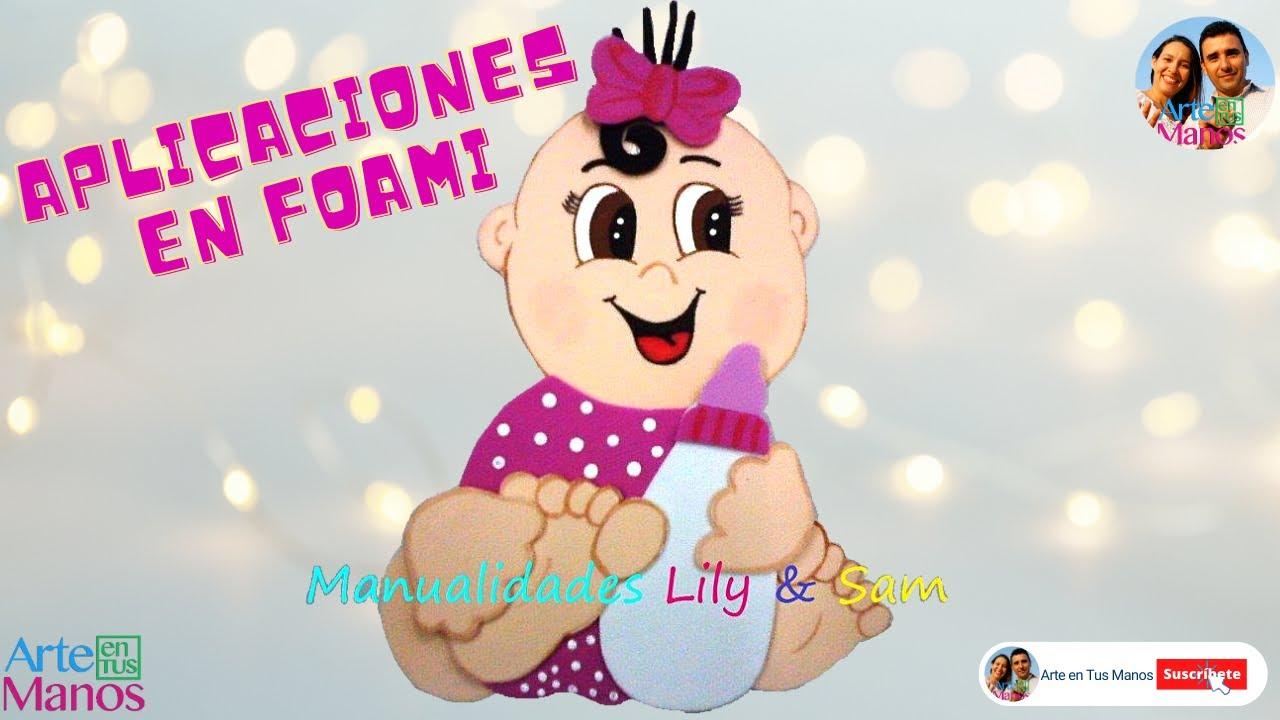 Bebé en Foami (Goma Eva) Aplicación Paso a Paso - Baby in foamy ...