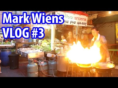 Khlong San Market, Yaowarat, & the Pyromaniac Chef  Food Travel Vlog 3
