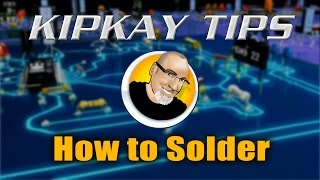 Kipkay Tips #1 - How To Solder