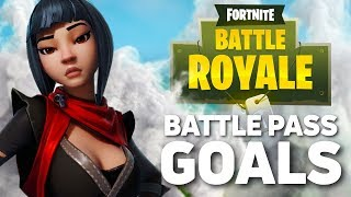 FORTNITE - Battle Pass Goals