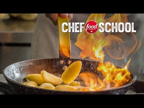 How to Flambe Food Like a Pro | Chef School