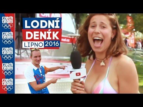 Eva Samková v plavkách? Výzva splněna! | Lodní deník z Lipna