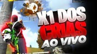 🔴 FREE FIRE AO VIVO  #X1 DOS CRIAS 🔴 VEM PRA LIVE #3K 🔴