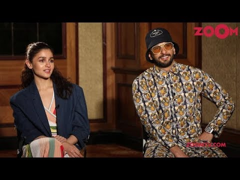 Gully Boy star Ranveer Singh raps for Alia Bhatt as they talk about their new movie | EXCLUSIVE