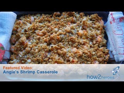 Aunt Angie's Shrimp Casserole