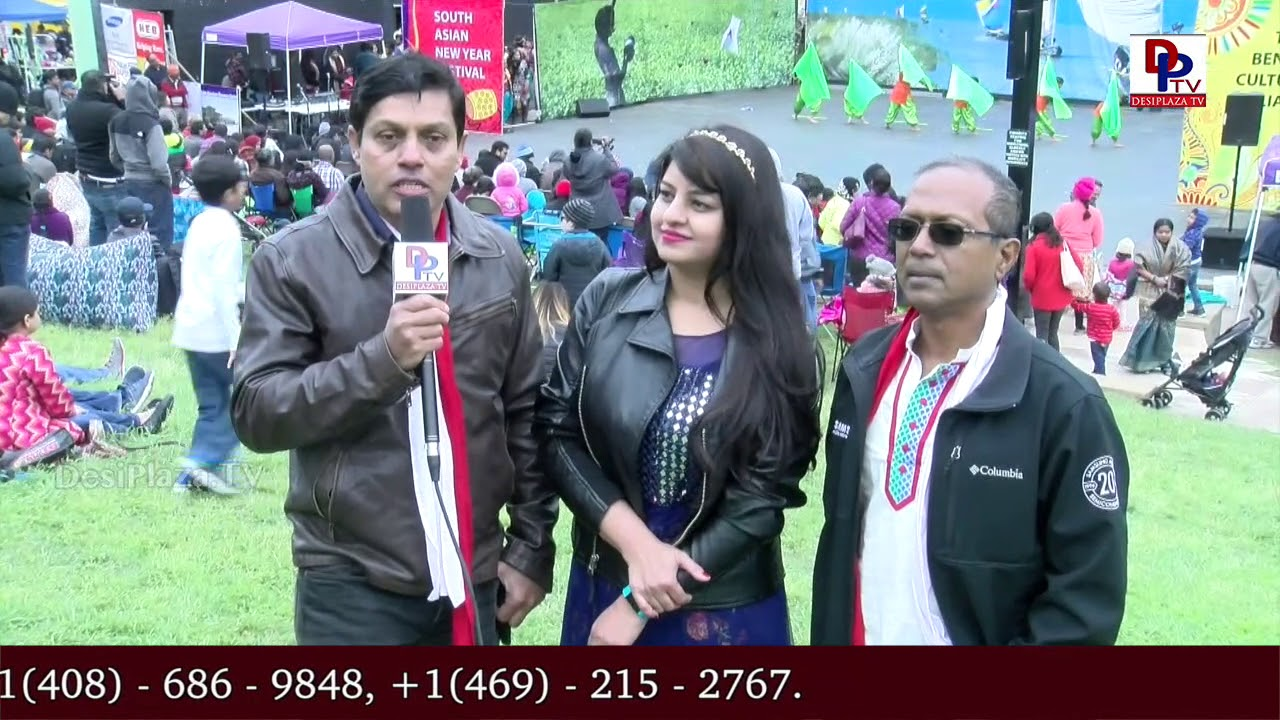 Event Organisers talk to DesiplazaTV at 17th Annual South Asian New Year Festival - Austin || SANYF