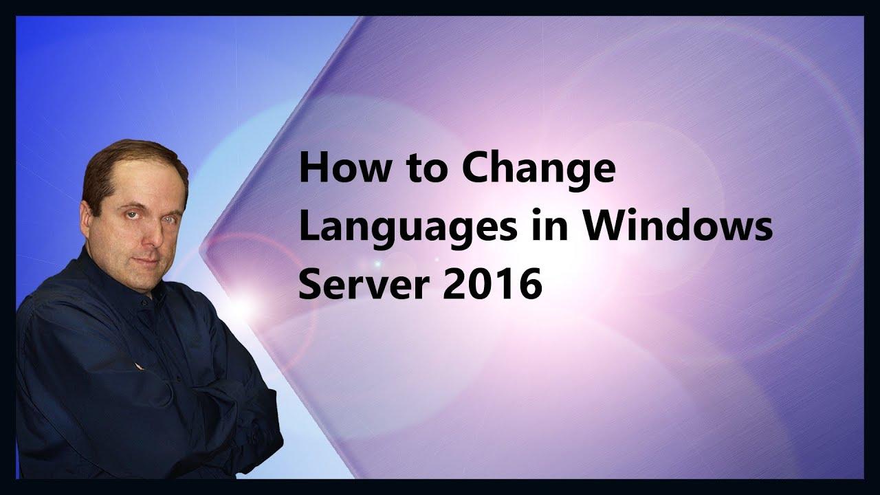 windows server 2016 sprachpaket