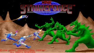 Strikeforce 1991 Midway Mame Retro Arcade Games
