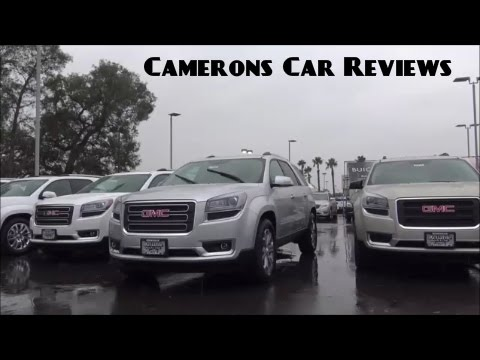 2016 GMC Acadia Review | Camerons Car Reviews